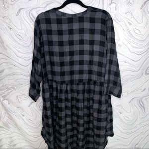 torrid Dresses - Torrid Plaid High Low Button Up Dress size 2